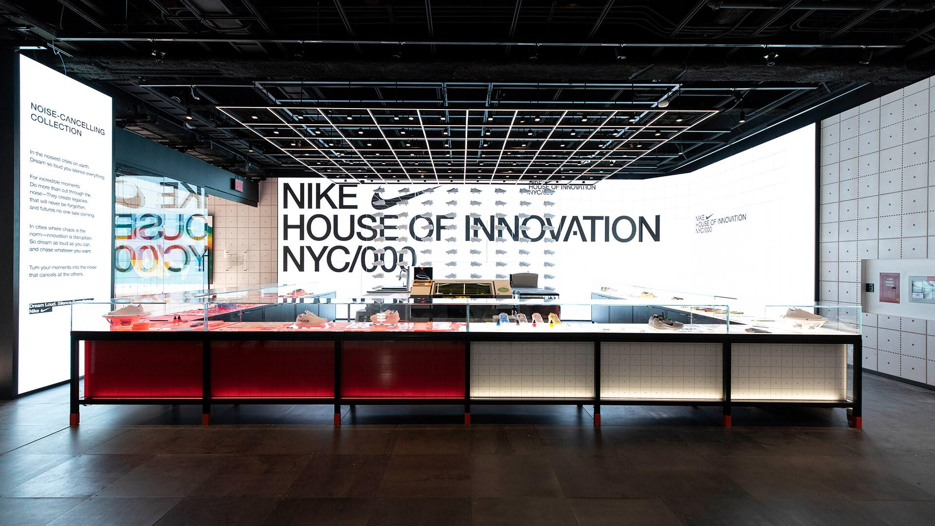 Óxido salir George Eliot  FRAME | Nike's House of Innovation 000 shows that big data does not equal  loss of theatre